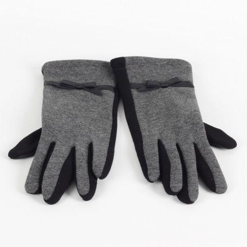 Sergio de Rosa grijze stretch handschoenen