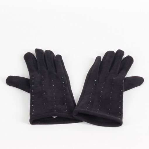 Sergio de Rosa zwarte stretch handschoenen