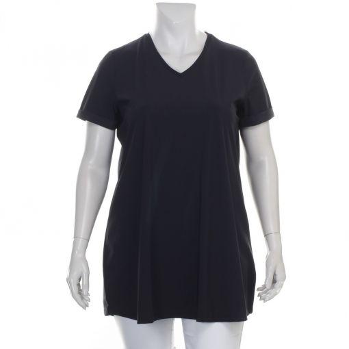 Plus Basics zwart A-lijn shirt