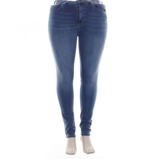 Yoek skinny spijkerbroek met stretch