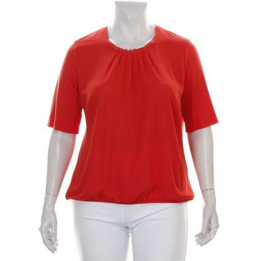 Sommermann rood shirt sierlijk geplooid
