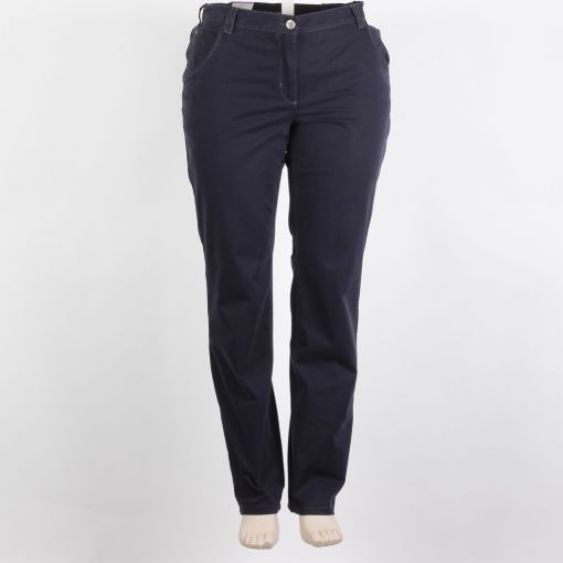 Stark broek blauw recht model stretch F-Selma