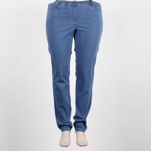 Stark spijker broek blauw model stretch S-Janna