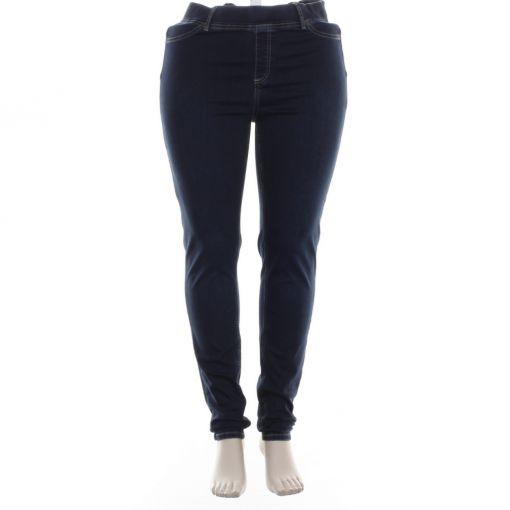 Yesta Base Level donkerblauwe spijkerbroek model Tessa