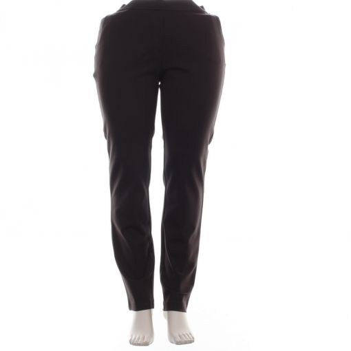 Relaxed by Toni bruine stevige tricot broek
