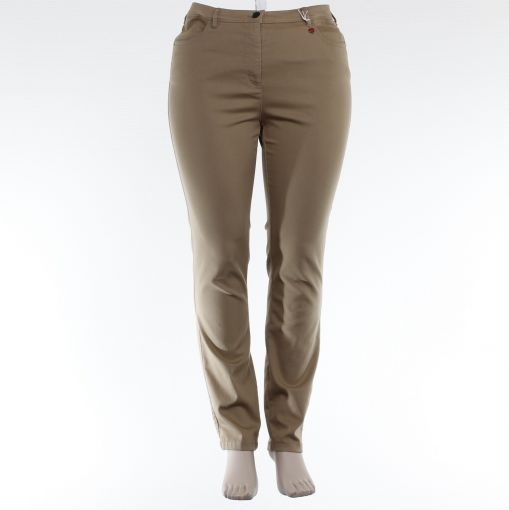 Toni broek beige regular model