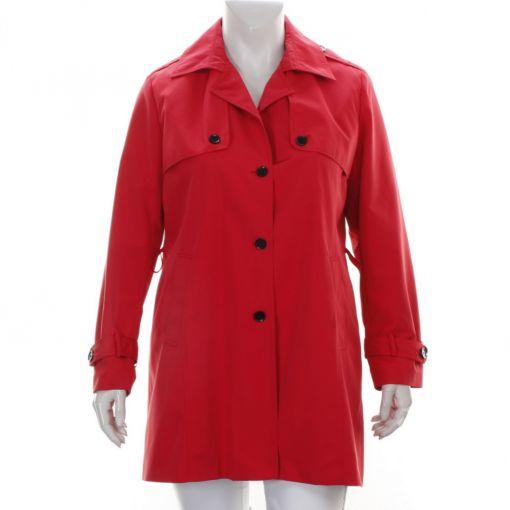Etage rode gevoerde jas