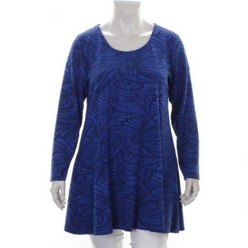 Twister kobaltblauwe tuniek