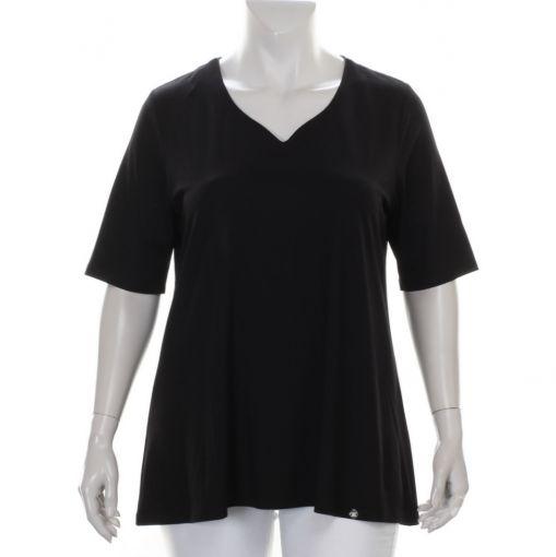 Twister zwart shirt met tulphals