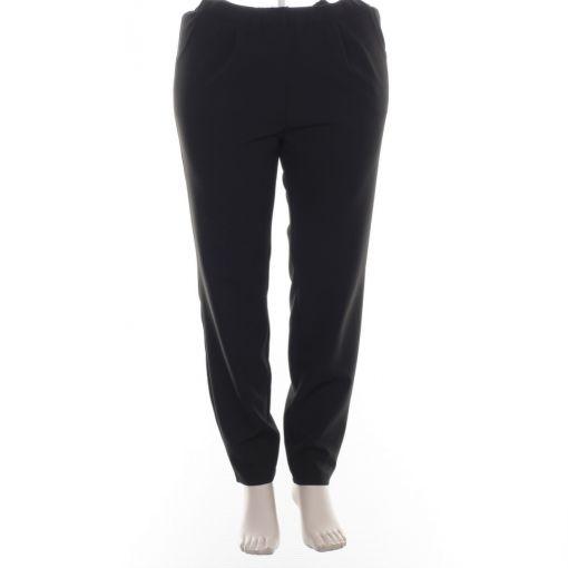 Verpass nette zwarte pantalon elastische boord