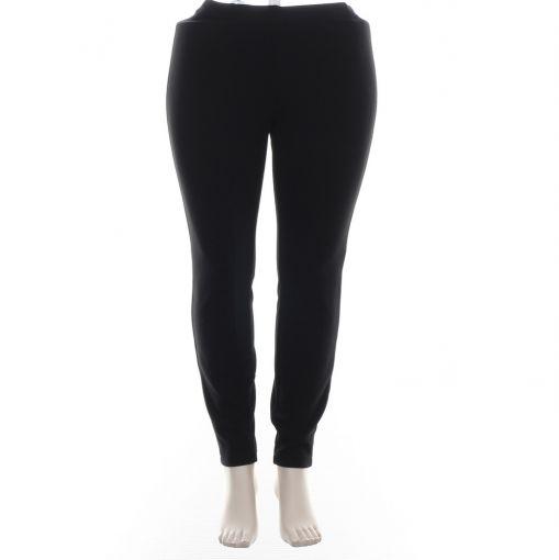 Verpass zwarte stretch broek relief