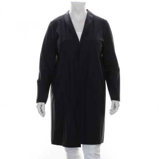 Plus Basics zwart openvallend vest