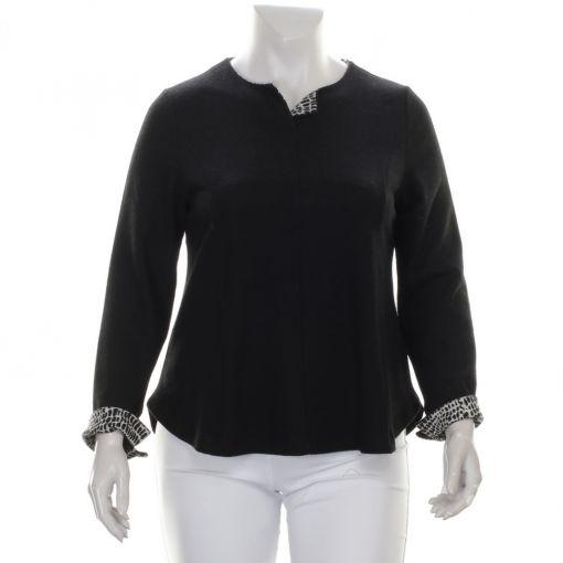 Vetono zachte zwarte pullover