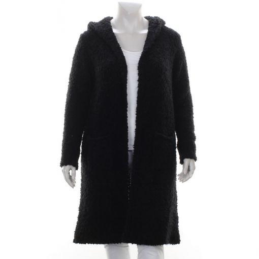 White Label zwart boucle vest