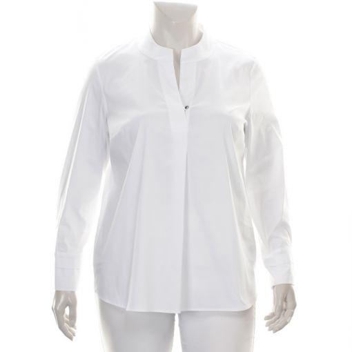 Erfo witte blouse met v-hals