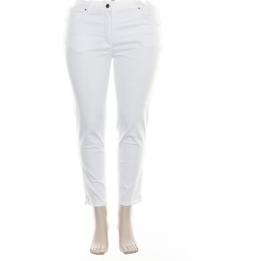 Laurie roomwitte 7/8e broek model Amy