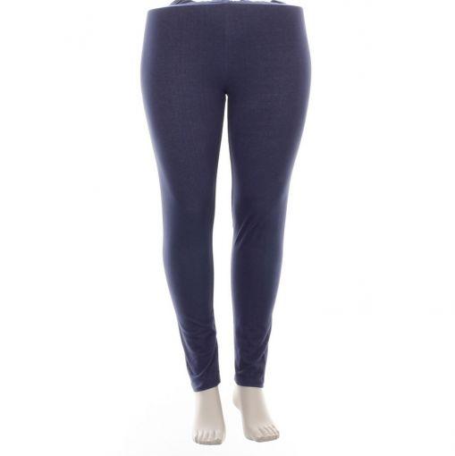 Yesta paars blauwe enkellange legging