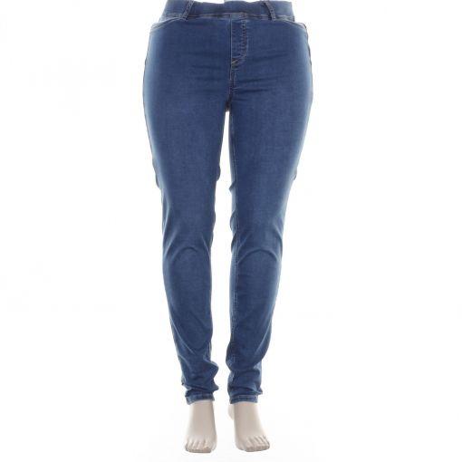 Yesta Base Level blauwe spijkerbroek model Tessa