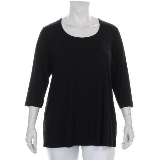Q-neel zwart shirt