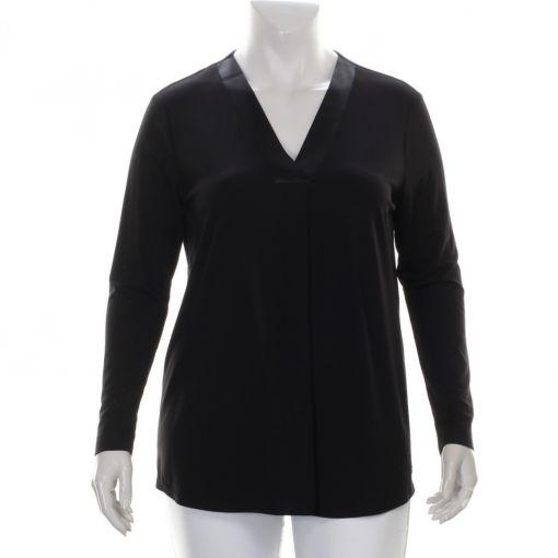 Verpass zwart shirt V-hals