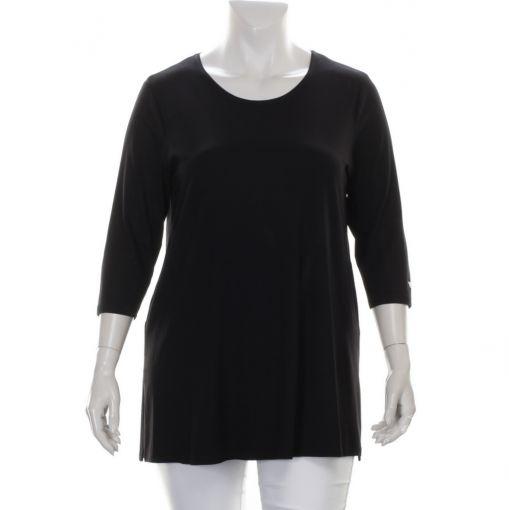 Verpass zwart tricot basis shirt ronde hals