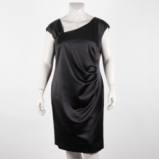 Zwarte feestelijke jurk met bolero Kirsten Krog Design