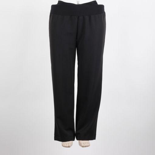 Carleoni pantalon zwart recht model