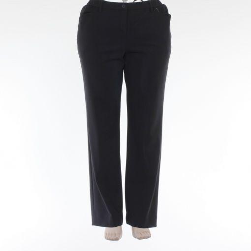 KJ-Brand zwarte rechte pantalon model Bea