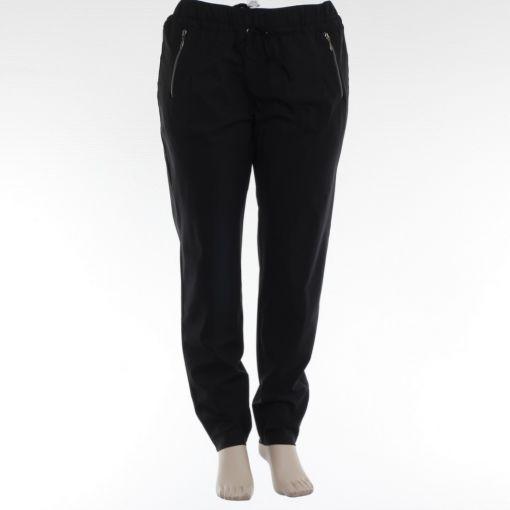 Kj-Brand soepele pantalon van travelstof