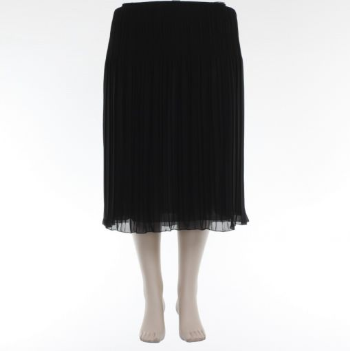Sommermann zwarte plisse rok