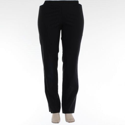 Zwarte broek merk Doris Streich vrij recht model
